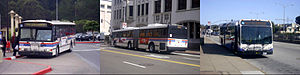 SamTrans - Image: Sam Trans collage