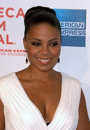 Sanaa Lathan - Lathan at the 2009 Tribeca Film Festival premiere of Wonderful World