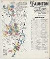 Sanborn Fire Insurance Map from Taunton, Bristol County, Massachusetts. LOC sanborn03864 002-1.jpg