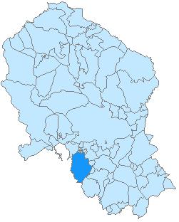 Santaella-mapa
