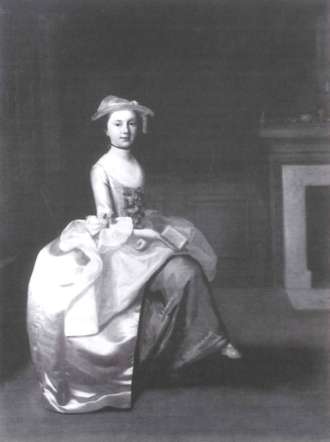 Sarah Scott - Sarah Scott, 1744, by Edward Haytley (ca 1740-1764)