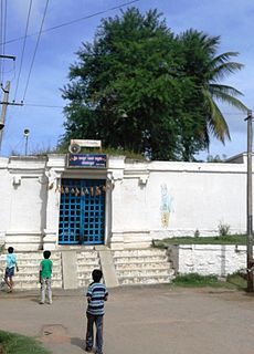 Malavalli Town in Karnataka, India