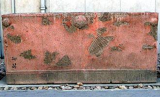 Royal Tomb of Akhenaten - Reconstructed sarcophagus