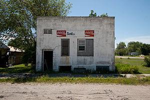 Sarles, North Dakota - Building in Sarles