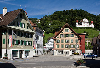 Sarnen - Dorfplatz