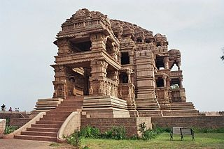 Sasbahu Temple, Gwalior 11th century twin Hindu temples in north Madhya Pradesh