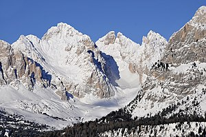 Sass Rigais Klettersteig Villnöss : Sass rigais u wikipedia