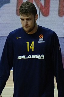 Cypriot-Bulgarian professional basketball player