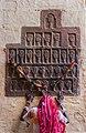 Sati handprints on Mehrangarh Fort, Rajasthan.jpg