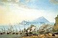 Saverio della Gatta - Battaglia navale al largo di Procida.jpg