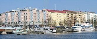 Savonlinna - The marina of Savonlinna