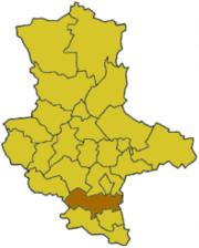 Мерзебург-Кверфурт на карте