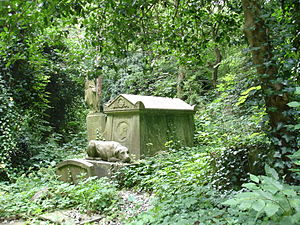Tom Sayers - The tomb of Tom Sayers at Highgate Cemetery
