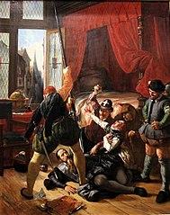 Scène de la saint-Barthélemy