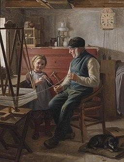 Schütt Helping grandpa 1892