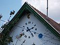 Schiff house clock in Gyömrő, Pest County, Hungary.jpg