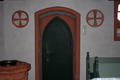 Schlitz Hartershausen Protestant Church Door Cross sli.png