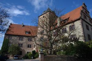Schlitz, Hesse - Image: Schlitz Vorderburg Westfluegel