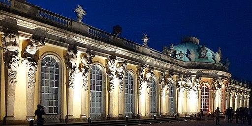 Schloss Sanssouci Hofdamenflügel