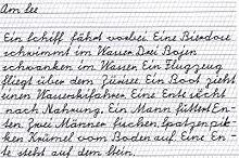 schulschrift schweiz