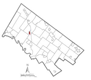 Schwenksville, Pennsylvania - Image: Schwenksville Montgomery County