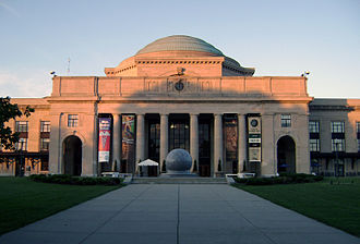 Science museum - Entrance to the Science Museum of Virginia