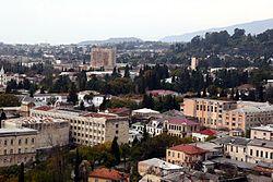 Vista de Sujumi, la principal ciudad de Abjasia