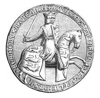 Guy de Beauchamp, 10th Earl of Warwick - Warwick was in constant opposition to King Edward II. Great seal of Edward II