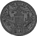 Seal of Oakland, California (1972).png