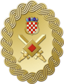 Seal of the Commander of the Croatian Army.png