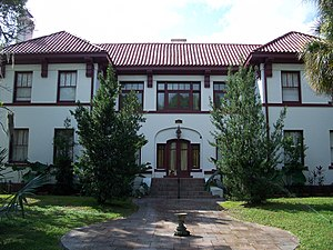 National Register of Historic Places listings in Highlands County, Florida - Image: Sebring FL Elizabeth Haines House 01