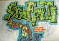 Second Culture, Good Vibrations, and Writings on the Wall : Hip-Hop in the GDR as a Case of Afro-Americanophilia Figure 3 : Graffiti Frust.png
