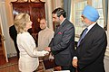 Secretary Clinton Shakes Hands With Indian Commerce Minister Anand Sharma (4727935201).jpg