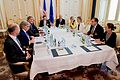 Secretary Kerry Meets With European Union High Representative for Foreign Affairs Mogherini Amid Iranian Nuclear Negotiations in Austria.jpg