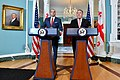 Secretary Pompeo and Georgian Prime Minister Bakhtadze Deliver Statements to the Press (48044886238).jpg