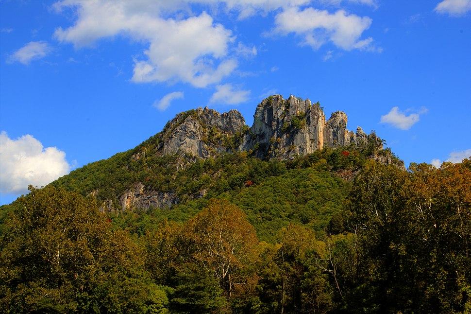 Seneca Rocks by Asilverstein Oct 2013 High Dynamic Range Merge from 7 Exposures