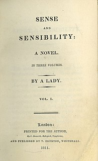 "novel by Jane Austen about the coming of age of the Dashwood sisters Elinor and Marianne; title refers to the characters of the two sisters: Elinor with ""sense"" (prudence), Marianne with ""sensibility"" (sensitivity, sympathy)"
