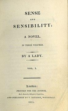 Sense And Sensibility Wikipedia