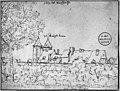 Sepiatekening (1669) in de verzameling Bodel Nijenhuis in de Universiteits bibliotheek te Leiden - Maastricht - 20145438 - RCE.jpg