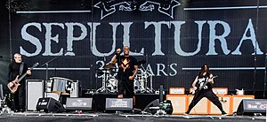 Sepultura - Sepultura at the Wacken Open Air festival in 2015