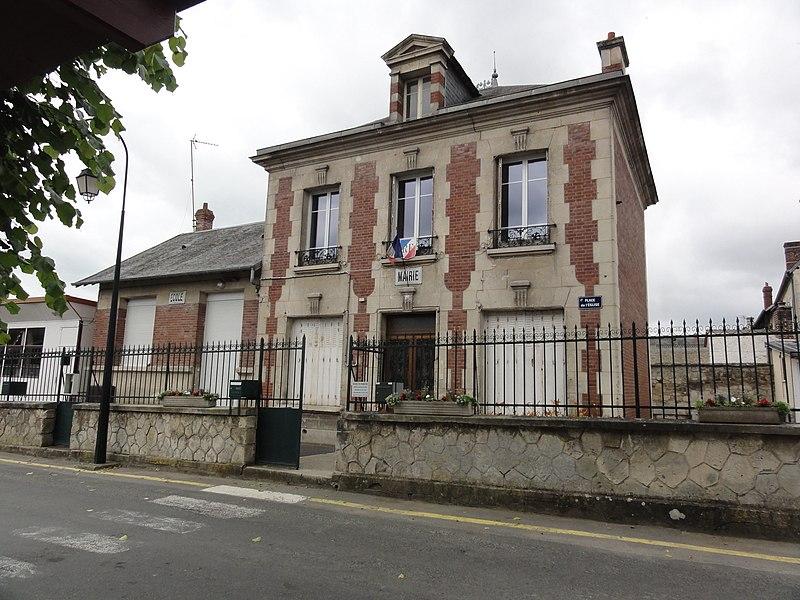 Sermoise (Aisne) mairie-école
