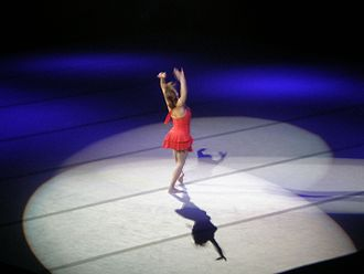 Shannon Miller - Miller performing at the 2008 Tour of Gymnastics Superstars in San Jose, California.