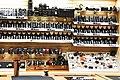 Shelf of Nikon lenses at 42nd Street Photo in 2014.jpg
