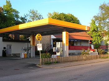 Shell gas station Uddevalla