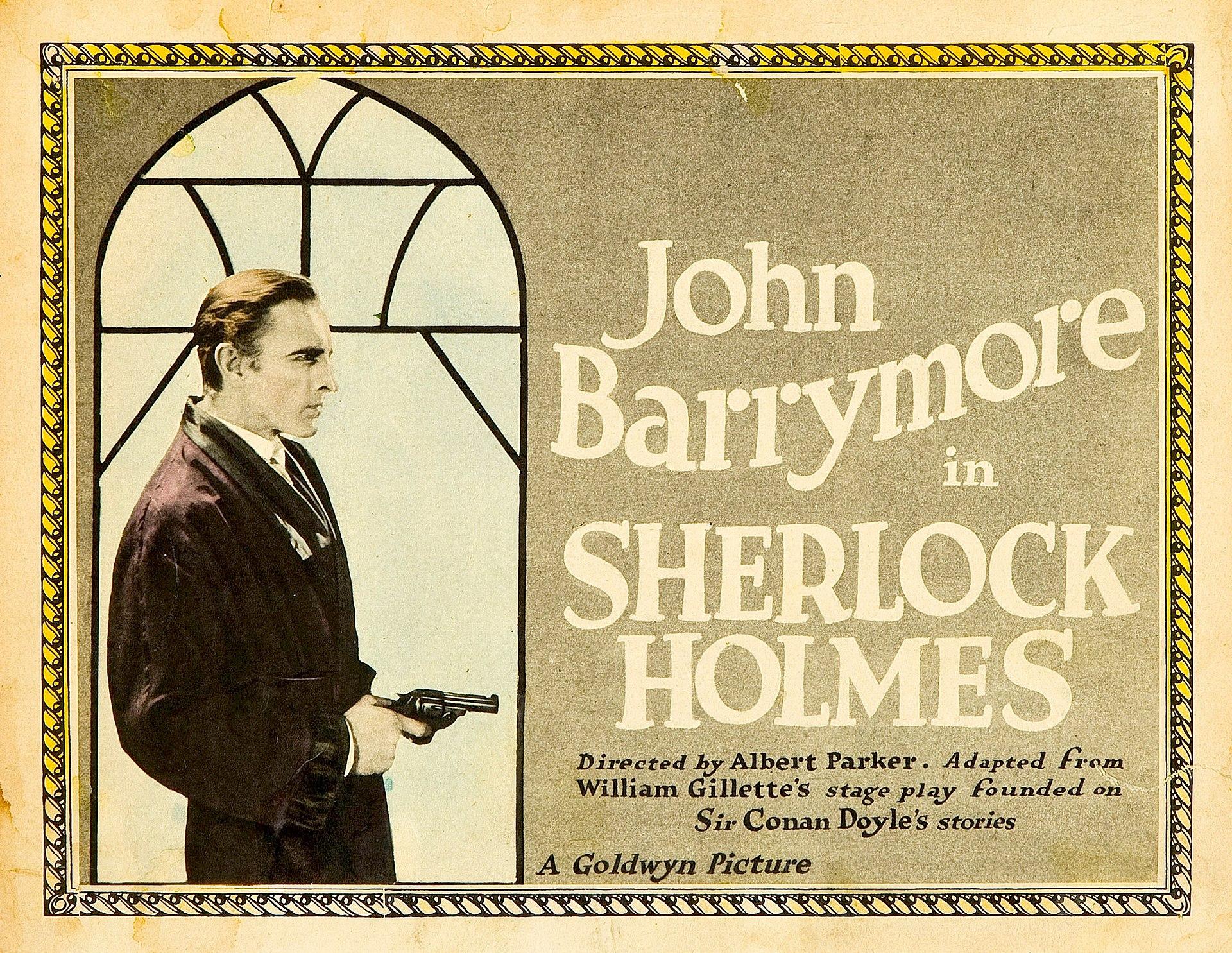 sherlock holmes 1922 film wikipedia