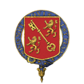 Shield of Arms of Sir Joseph Austen Chamberlain, KG.png