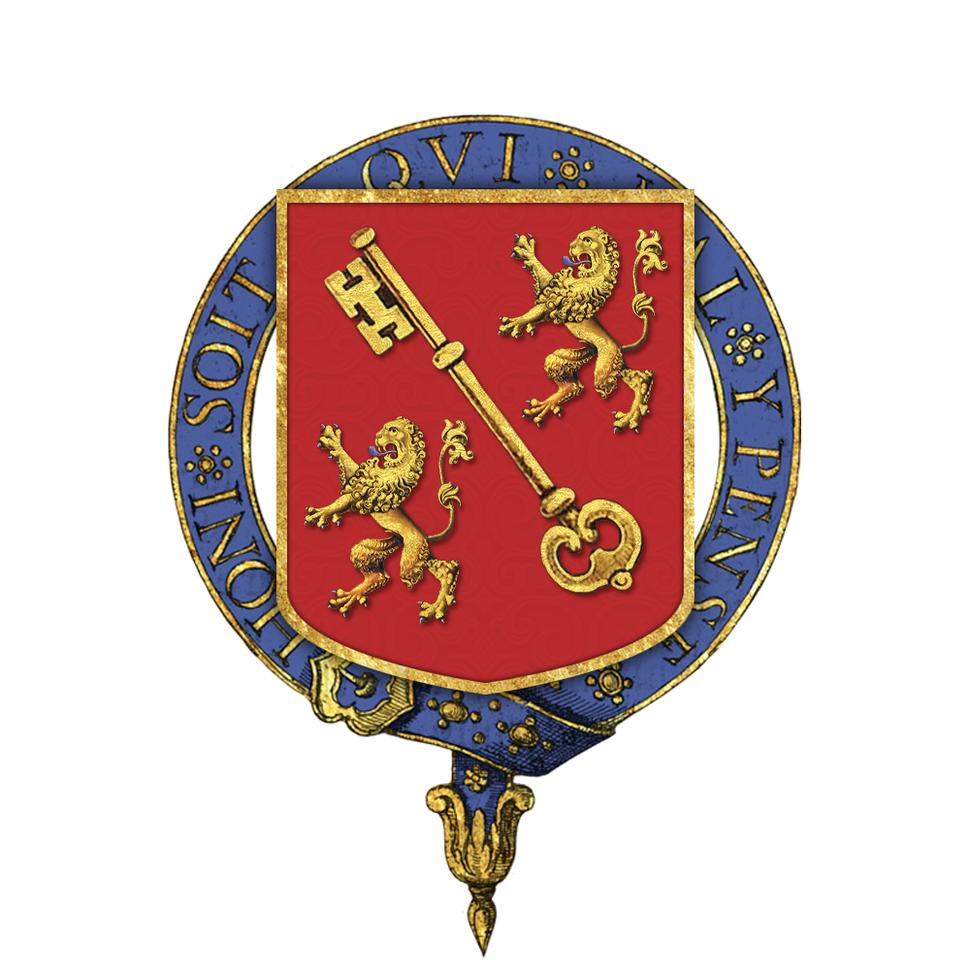 Shield of Arms of Sir Joseph Austen Chamberlain, KG