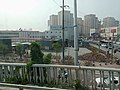 Shilihe Station for Line 17, Beijing Subway in May 16th., 2018.jpg