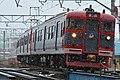 Shinano Railway 115 series at Sakaki Station (46825814334).jpg