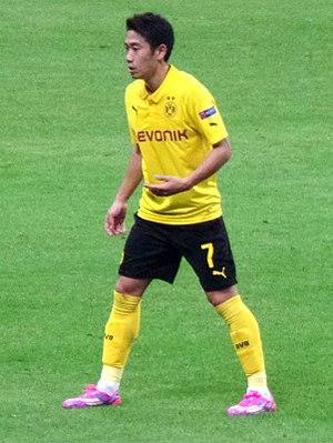 Shinji Kagawa - Kagawa with Borussia Dortmund in 2014